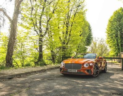 Bentley Continental GTC: First Drive