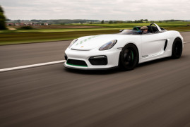 Porsche Boxster Bergspyder: This 981 Single-Seater Is Obscenely Glorious