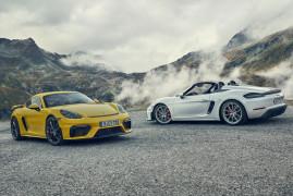 Porsche 718 Boxster Spyder and 718 Cayman GT4: Pure Driving Pleasure