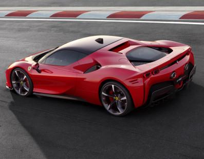 Ferrari SF90 Stradale. 1,000-HP First Ever Hybrid Plug-In From Maranello