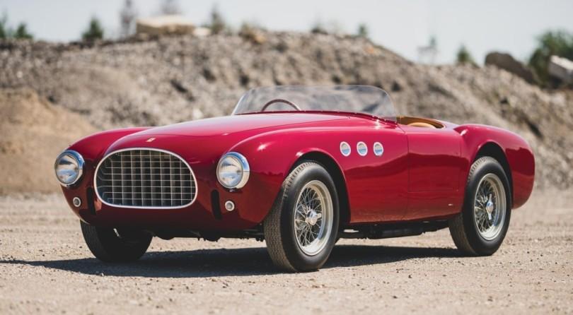 Italian Masterpiece: The 1952 Ferrari 225 Sport Spider by Vignale