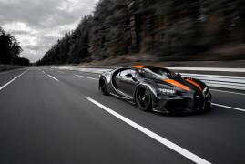 La Bugatti Chiron Tocca i 490 km/h. E' Record!