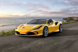 Ferrari F8 Spider: A Top-Down Thrilling Experience