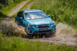 Subaru e-Boxer: Forester and XV, Hybrid Technology Brings More Grunt