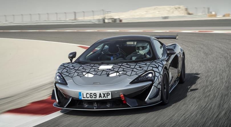 McLaren 620R   News