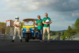 Tuk-Tuk Sets Fastest Lap On The Nürburgring