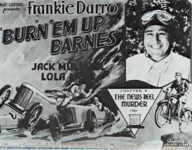 Burn 'Em Up Barnes | Cinema