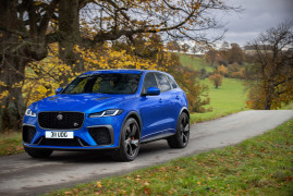 Jaguar F-Pace SVR | News