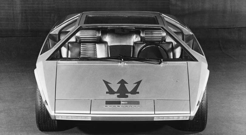 Maserati Boomerang | Designed With Just A Ruler