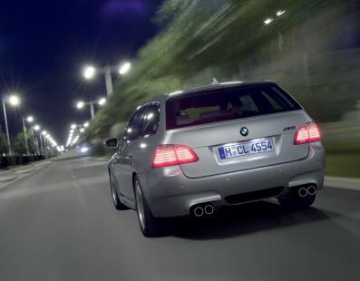 BMW M5 Touring   A Werewolf In Monaco