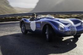 Ecurie Ecosse Brings Back The Legendary Jaguar C-Type