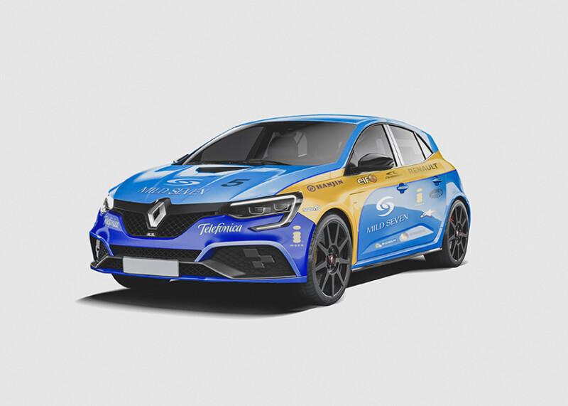 Fernando Alonso - Renault Megane Auto Class Magazine