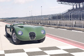 Celebrating 70: Jaguar C-Type Joins Classic Continuation Family