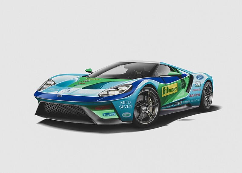 Michael Schumacher - Ford GT Auto Class Magazine