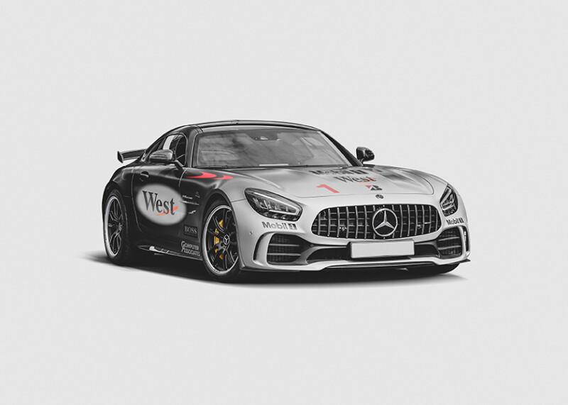 Mika Hakkenin - Mercedez-Benz AMG GT Auto Class Magazine
