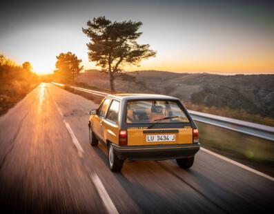 Opel Corsa A GT: Il Grand Tour