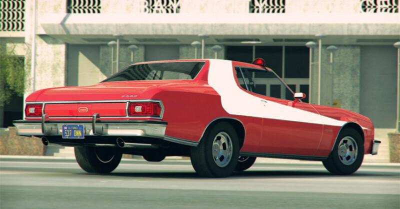 Starsky & Hutch ford gran torino Auto Class Magazine