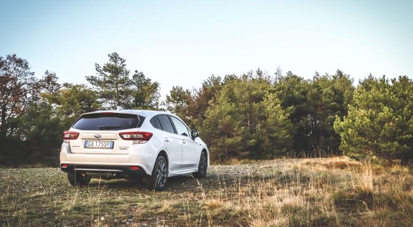 Subaru Impreza e-Boxer   Test Drive