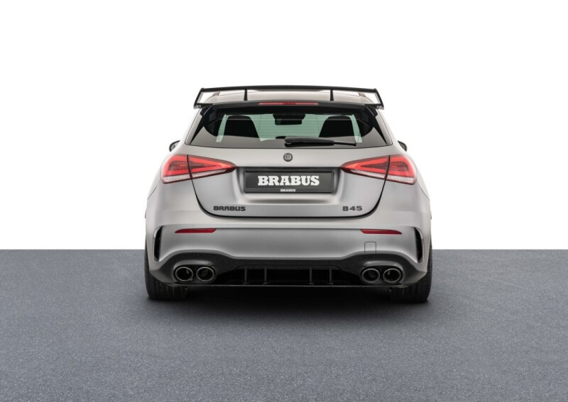 BRABUS B45 based on AMG A45S (27) Auto Class Magazine