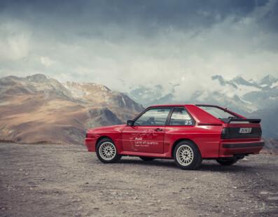 Audi Sport Quattro: Potenza a Trazione Integrale