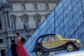Car Models At Louvre