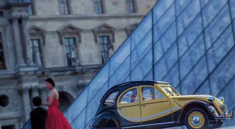Modellini Al Louvre