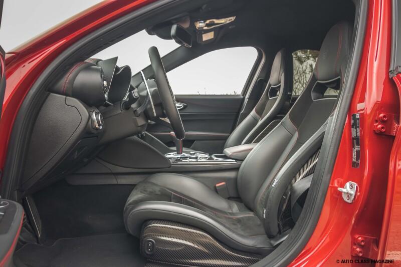 Alfa Romeo Giulia Quadrifoglio Auto Class Magazine _042