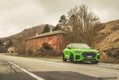 Audi RS Q3 Sportback   Test Drive