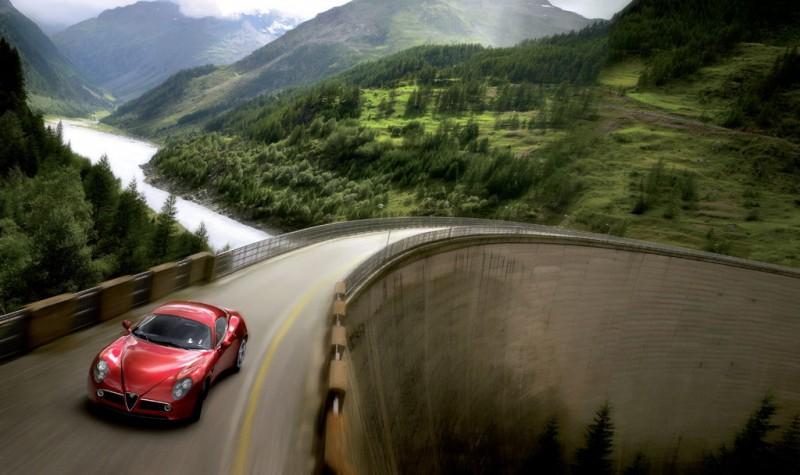 061025_AR_8C_05_1024 Auto Class Magazine Alfa Romeo 8C Competizione