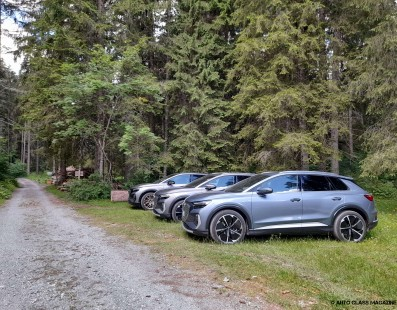 Audi Q4 e-tron   Preview Drive