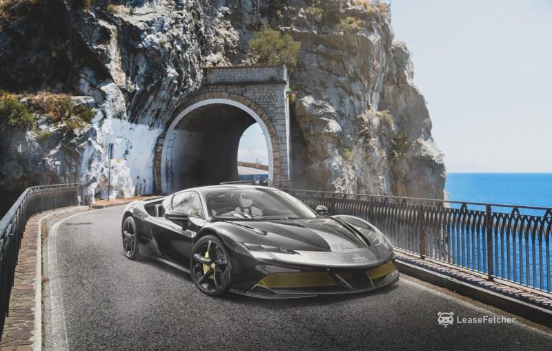 Amalfi Coast - Ferrari X Omega copy Auto Class Magazine